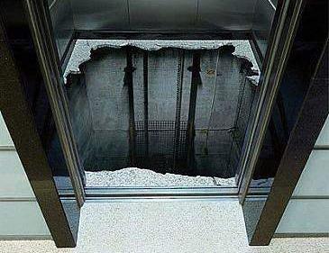 Наливной 3д пол в лифте