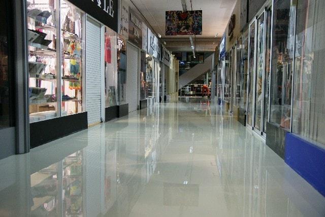 Пол для торговых центров