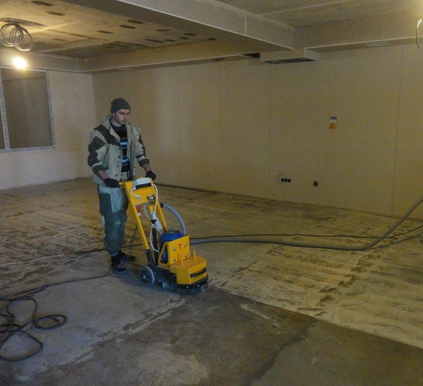 Упрочнение бетонных полов